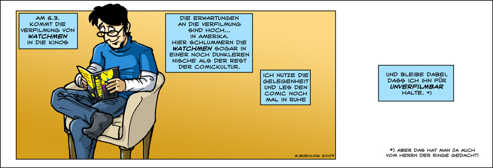 WHO READS THE WATCHMEN? – Folge 1