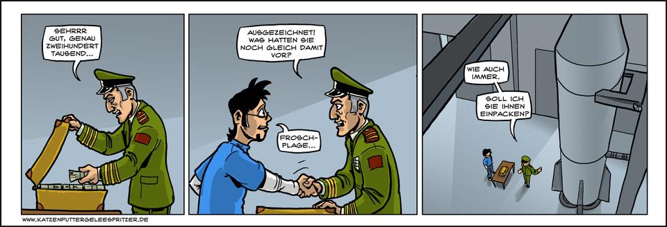 Bombenstimmung…