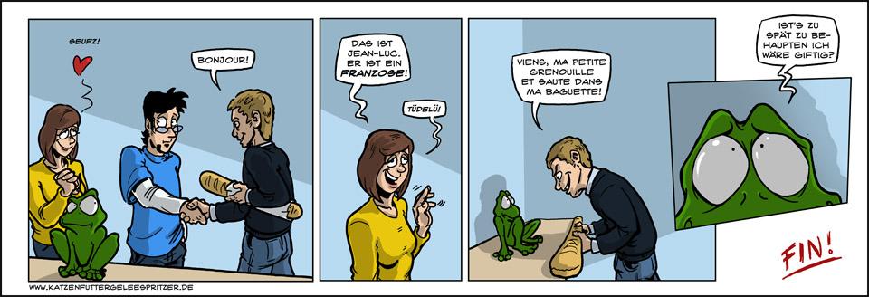 Der Froschvernichter!