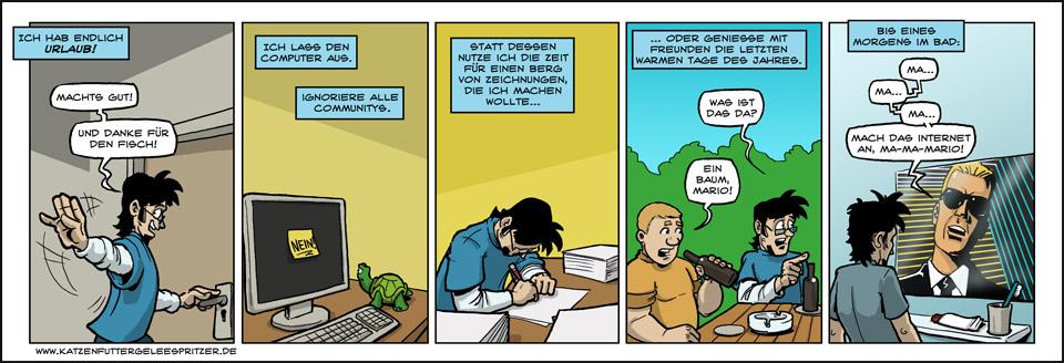 Folgen des Internetentzug