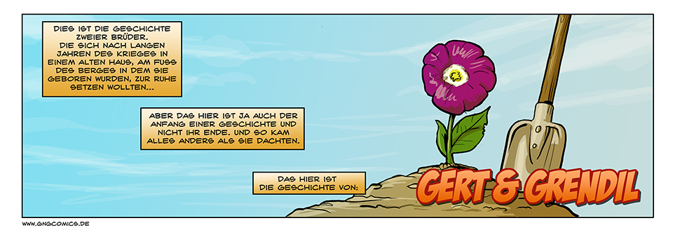 Gert & Grendil – Prolog