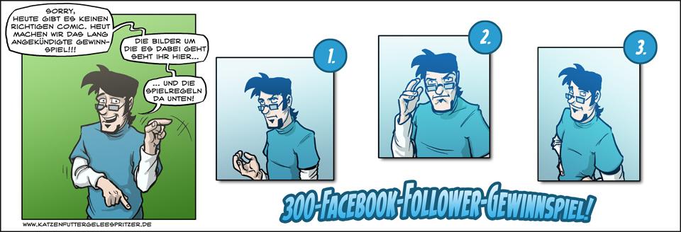 Das 300-Follower-Gewinnspiel