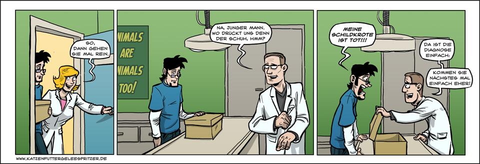 Kommt ein Mann zum Arzt